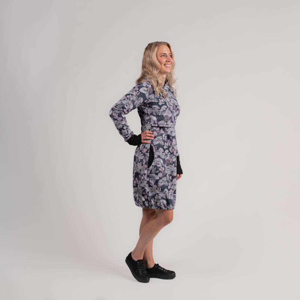 Kotva musta mekko hupulla | Hujaus